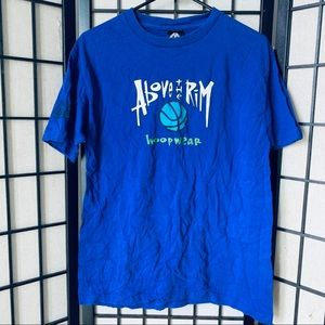 Reebok above the rim hoop wear t-shirt sz XL